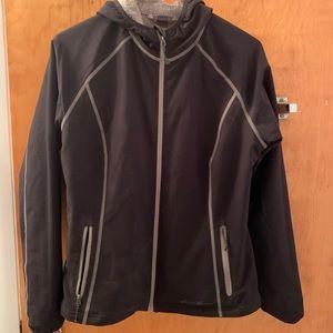 Eddie Bauer Fleece lined water resistant jacket